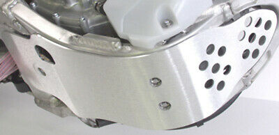 Works Connection 10-108 Silver Motocross MX Dirt Bike Skid Plate