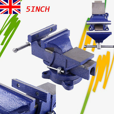 Professional Swivel Bench Screw Vise 2.2 inch Fixed Table Clamp Vice Jaw G2E8