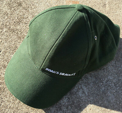 """BOAG'S DRAUGHT """"Forest Green"""" Collectable Beer Adults Baseball Cap Hat"""