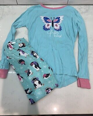 Girls Hatley Cotton Pyjamas Age 7 Years - Snug Fitting - Lovely