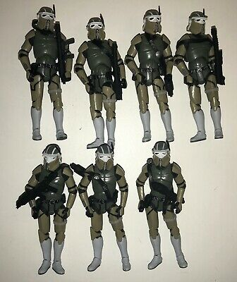 CLONE AT-RT DRIVERS Star Wars Vintage Collection 2010 Hasbro Set 7 Loose Figures
