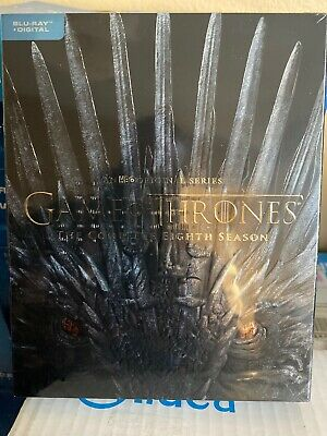 Game of Thrones: The Complete Seasons 8Blue-ray +Digital Brand New Unwrap