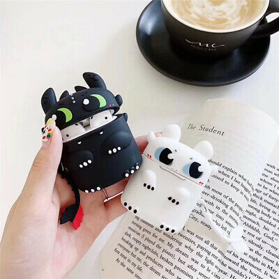 How to train your dragon toothless Light Fury Earphone For Apple AirPods Case