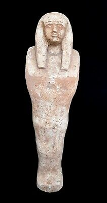Ushabti Egyptian Antique Ancient Large Statue Shabti Egypt Funerary Hieroglyphs