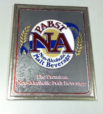 Pabst beer sign mirror blue ribbon  N/A bar NOS vintage brewery mirrors signs 1