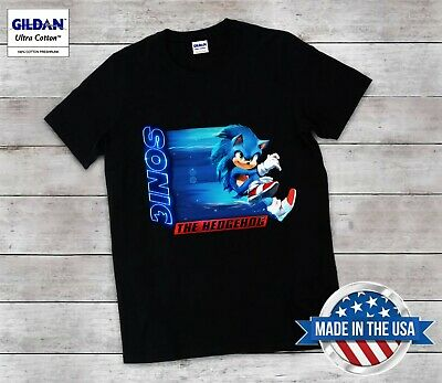 New Sonic The Hedgehog 2 Movie 2020 T Shirt Unisex All Size Limited Edition