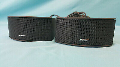 Bose AV3-2-1 Home Theater System Media Center Black Satellite Speakers w/ Cable