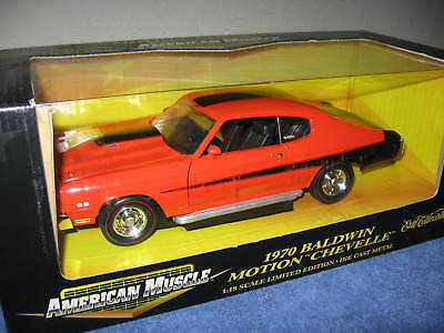 1970 Baldwin Motion Chevrolet Chevelle Ss454  Ertl 1:18 Rare With Rally Wheels!