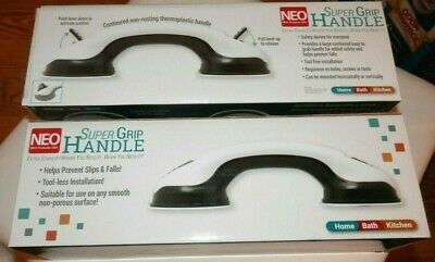 New Neo Products Super Grip Handle Home Bath Kitchen 2 Each