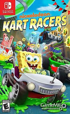 Nintendo Switch Nickelodeon Kart Racers Rated E For Everyone