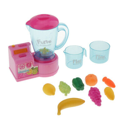 Children Mini Juicer Squeeze Fruits Pretend Play Playhouse Birthday Toys