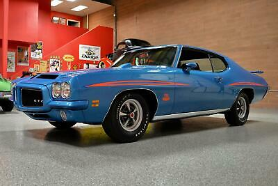 1971 Pontiac GTO The Judge 455 HO 1971 PONTIAC GTO 'THE JUDGE' 455 HO #'s Matching Rotisserie *Heavily Documented!