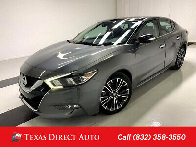 2017 Nissan Maxima Platinum Texas Direct Auto 2017 Platinum Used 3.5L V6 24V Automatic FWD Sedan Bose