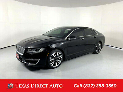 2017 Lincoln MKZ/Zephyr Reserve Texas Direct Auto 2017 Reserve Used 2L I4 16V Automatic FWD Sedan