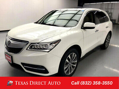 2016 Acura MDX AWD SH- w/Technology Package Texas Direct Auto 2016 AWD SH- w/Technology Package Used 3.5L V6 24V Automatic