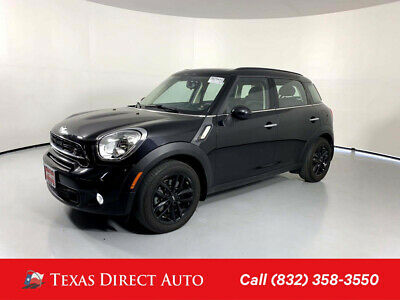 2016 Mini Countryman S Texas Direct Auto 2016 S Used Turbo 1.6L I4 16V Automatic FWD SUV Premium