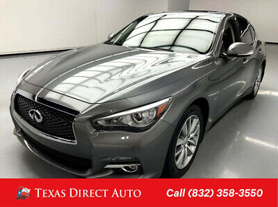 2016 Infiniti Q50 2.0t Premium Texas Direct Auto 2016 2.0t Premium Used Turbo 2L I4 16V Automatic AWD Sedan