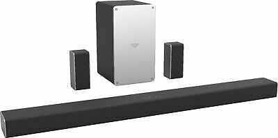"VIZIO - SmartCast 5.1 Channel Sound Bar System with 5-1/4"" Wireless Subwoofer..."