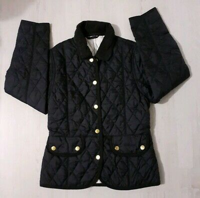 Girls Barbour Vintage Quilt Jacket Age 8-9 Years