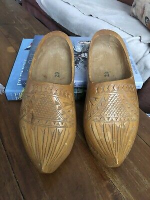 Wooden Carved Clogs