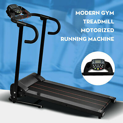 Electric Treadmill Foldable Home Gym Run Exercise Machine Fitness Equipment