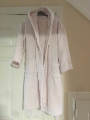 Girls Pale Pink Dressing Gown Age 9-10