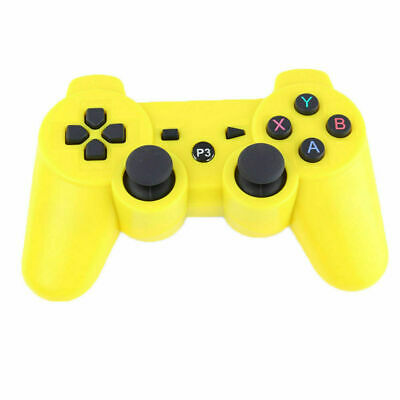 Wireless Remote PS3 Controller Gamepad for use with PlayStation3 Yellow