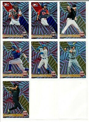 2019 Panini Elite Extra Edition Base ASPIRATIONS RED You Pick /150 BLEDAY ACUNA+
