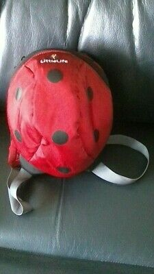 Little Life Ladybird Bag / Back Pack  No Rein