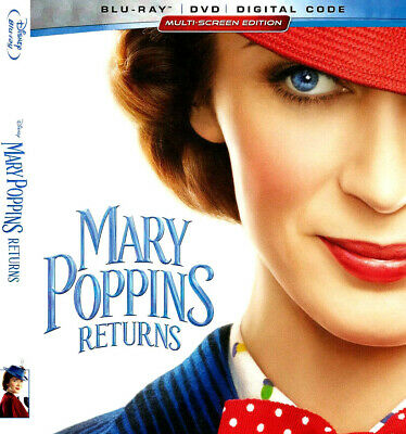 Mary Poppins , Slipcover, Case And Dvd Only, Never Watched, Free Shipping