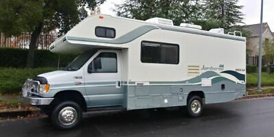 1999 Jamboree fleetwood 4x4 24ft motorhome