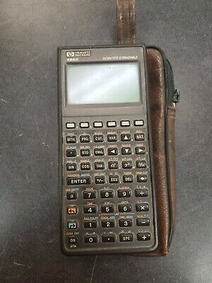 Vintage (1989) HP 48SX Scientific Expandable programmable graphing calculator
