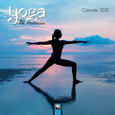 2020 Yoga & Meditation Square Wall Calendar by Flame Tree