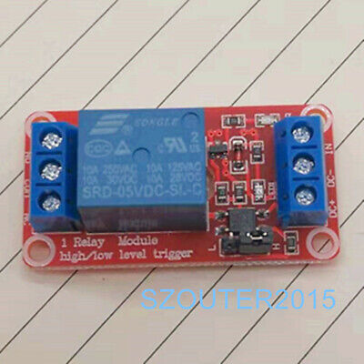 5V 1 Channel Relay Module With optocoupler For PIC AVR DSP ARM Arduino  New