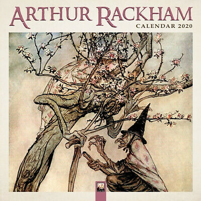 2020 Arthur Rackham Square Wall Calendar by Flame Tree