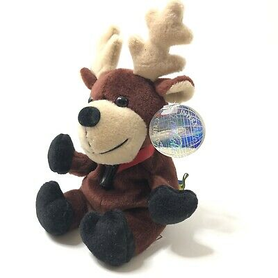 Coca Cola Bean Bags Baltic Sweden Plush Reindeer
