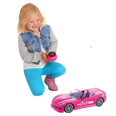 Barbie Remote Control Dream Convertible Car 2 Seater RC Pink Any Size Barbie