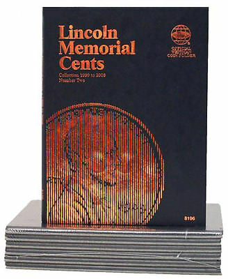 New Whitman Album LINCOLN Memorial PENNY vol#2 CENTS 1999-2008 Coin Folder Book