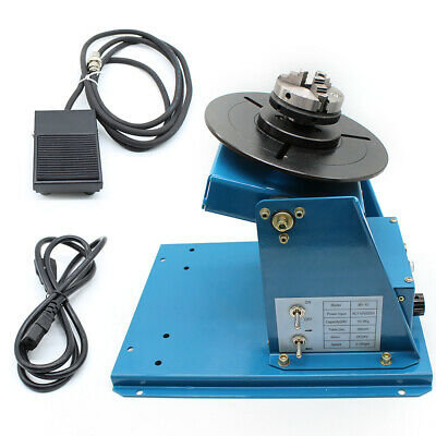 Automatic welding Machine Rotary Welding Positioner Turntable Table 0-90° Tiltin