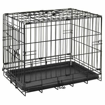 CLEARANCE Pet Cage Dog Cat Puppy Training Animal Transport 18 Inch Metal