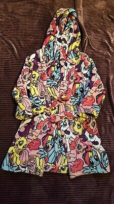 My Little Pony Dressing Gown robe fleecy age 6-7 years