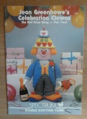 Jean Greenhowes Celebration Clowns Part Two Knitting Booklet