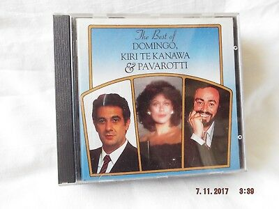 The Best Of Domingo, Kiri Te Kanawa & Pavarotti Cd
