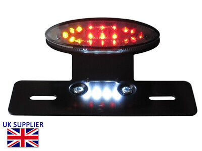 Rear Brake Tail Light & Indicators for Harley Sportster Softail Dyna Project LED