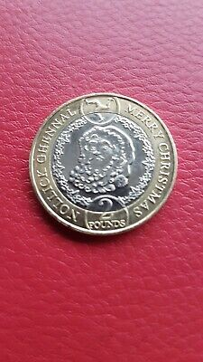 New 2019 Isle of Man £2 Two Pound Coin Father Christmas Santa Claus