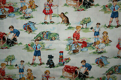 Cotton Fabric - Vintage Kids From Alexander Henry