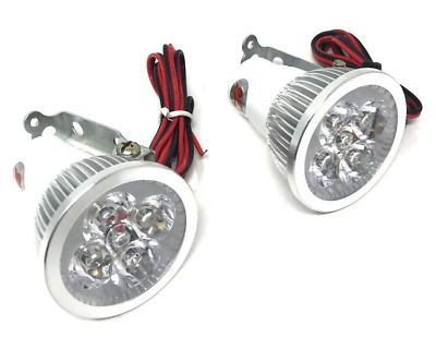 Motorbike CREE LED Spotlights Super Bright Good Quality Quad Trike ATV - PAIR