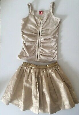No Added Sugar Party Top And Skirt age 7-8 Years