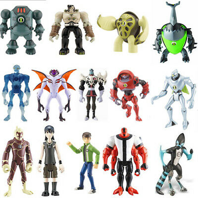 BEN10 BEN TEN SET 9 PERSONAGGI ACTION FIGURE NOVITA/' ITALIA  MINI PERSONAGGI