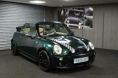 2006 06 Mini 1.6 Chili Cooper Convertible + Low Miles + Heated Leather